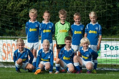 wvf voetbal westenholte Teamfoto F1